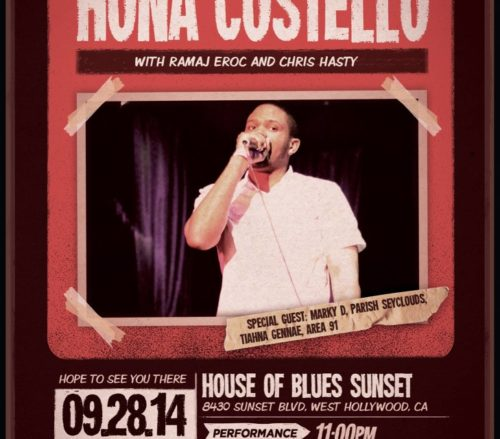 Ramaj Eroc & Hona Costello | House Of Blues Sunset