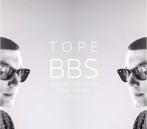 TOPE: BBS artwork from Portland rapper