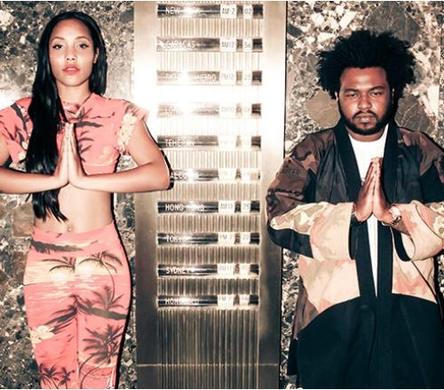 Musicians Indian Shawn & James Fauntleroy