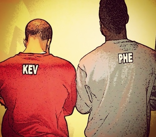 Virginia Beach rap duo KEVNPHE