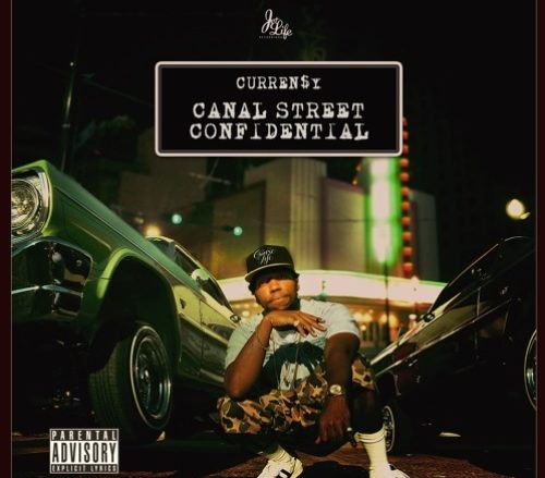 Currensy Canal Street Confidential cover