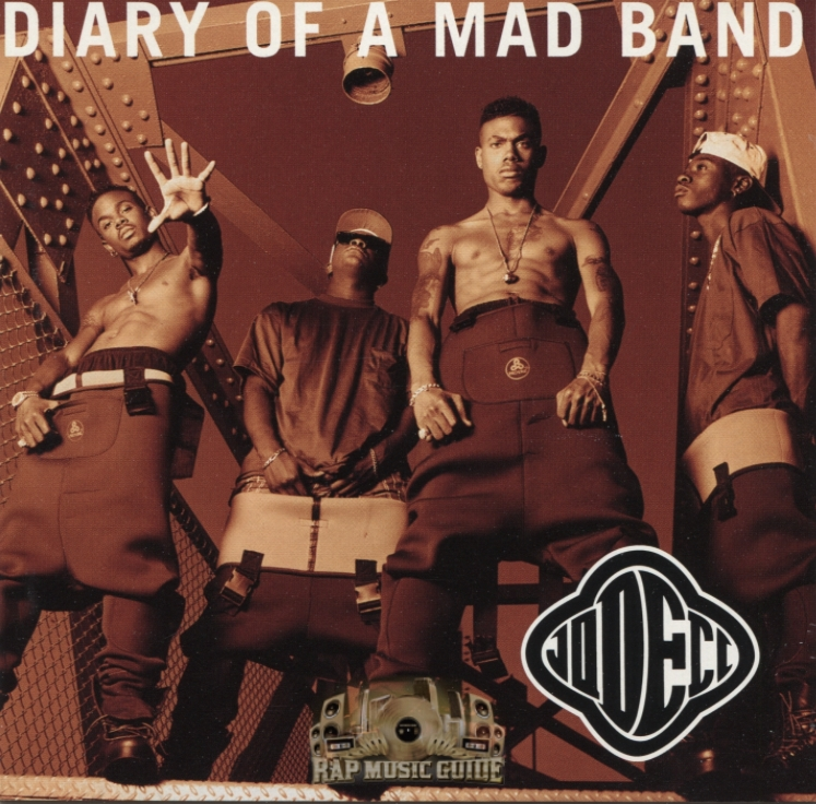 Jodeci: Diary of a Bad Band album cover