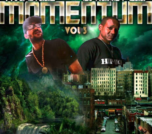Five Steez & DJ Ready Cee: 'MOMENTUM' Vol. 3 Mixtape cover