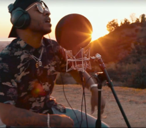 "Eric Bellinger ""Black Beatles"" Vevo Remix music video"